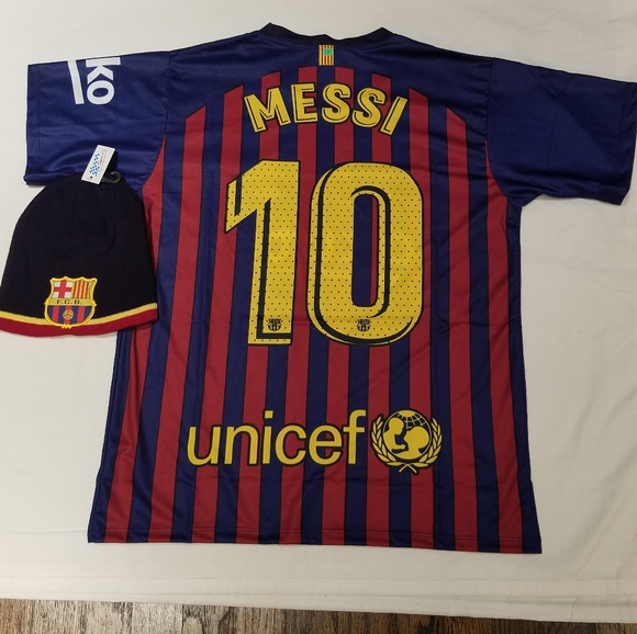 low priced 8e808 7c8f2 Barcelona Jersey Messi #10